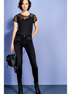 'CHARMING' BOTTOM-UP TROUSERS