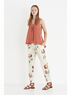 Fancy Poplin Pants