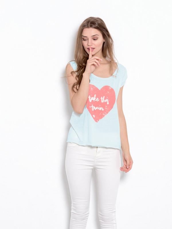 Esmeralda Train camiseta