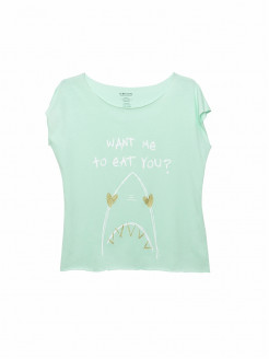 Dulce Shark camiseta