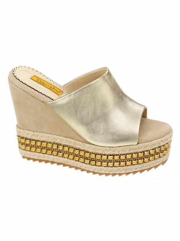 Zapatos plataforma con pala
