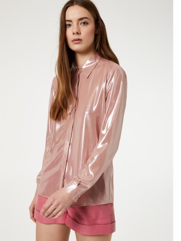 Camisa laminada | Shop online LIU JO