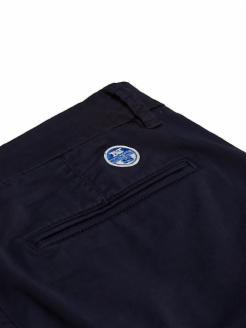 Short chinos en algodón
