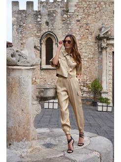 gold kargo joggin trousers