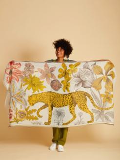 Pareo foulard leopardo