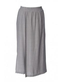 Pantalón ancho tela delante