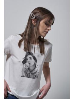 T-shirt con dibujo