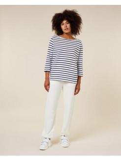 Camiseta manga larga de rayas