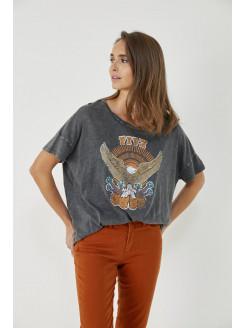 Camiseta aguila gris