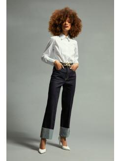 Jeans con cintura  alta