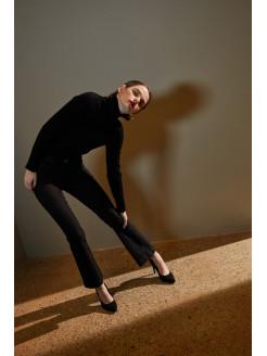 Jeans modelo sally trompeta