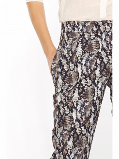 """""""PYTHON"""" TROUSERS"""